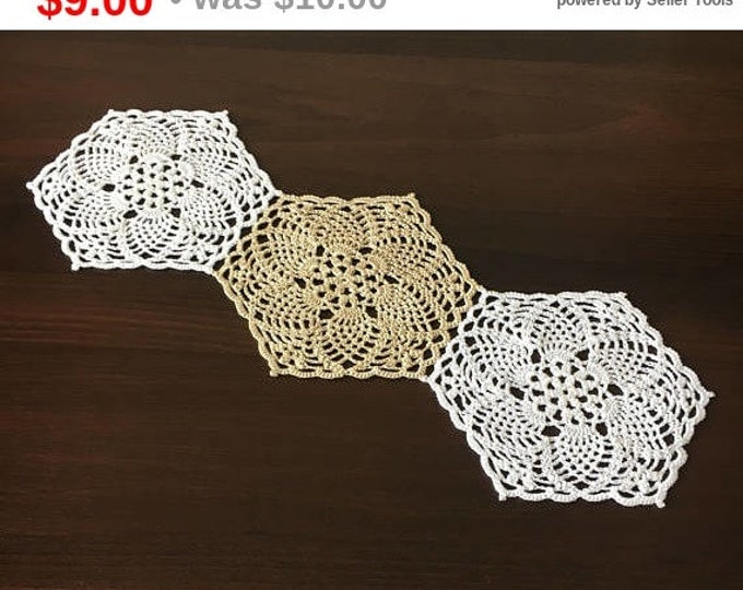 napkin centerpiece Doily crocheted doily rustic decor coffee table doily crochet coaster table mat kitchen coasters kitchen accessory.