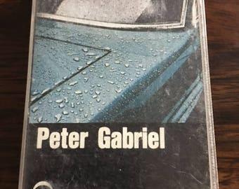 Peter Gabriel Cassette Tape