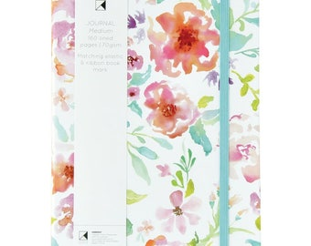 "Kaisercraft Kaiser Style Medium 5.75"" x 8.25"" WILDFLOWER Journal with 160 lined pages"
