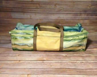 Beach Theme Cricut Bag, Cricut Tote, Cricut Carry Case, Cricut Dust Cover, Silhouette Bag, Silhouette Tote, Silhouette Dust Cover