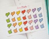 Oven Mitten Planner Stickers | Stationery for Erin Condren, Filofax, Kikki K and scrapbooking