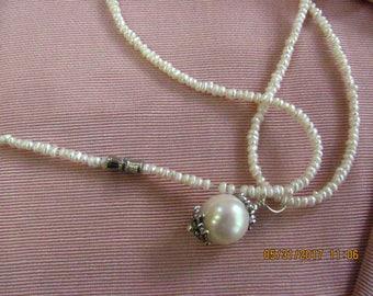 Seed Pearl Choker