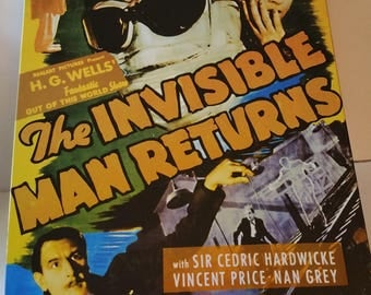 Invisible man sign