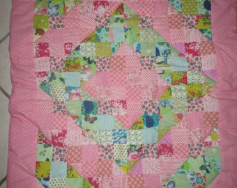 baby blanket quilts for child or Park size 100 cm x 72 cm bed