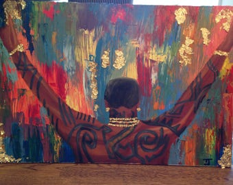 Gucci Mane Oil Painting