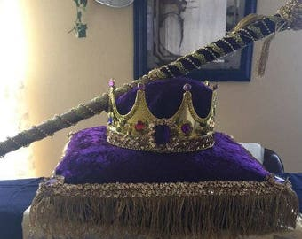 Crown&pillow sceptre set