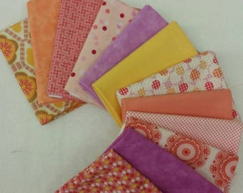 Fun and Funky Fat Quarter Bundle of 12