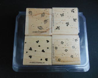 Petite Patterns Retired Stampin' Up set of 4