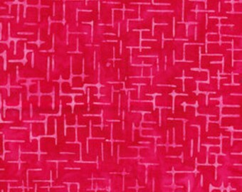 Anthology - Batik - Quilt Essentials - 16752 - Red - Hash Tag