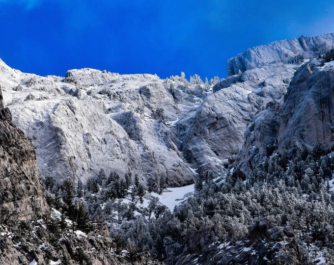 Mount Charleston Nevada Ridge Line
