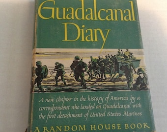 Guadalcanal Diary.  1943 Edition.