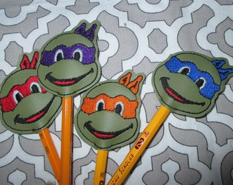 Turtle Pencil Toppers
