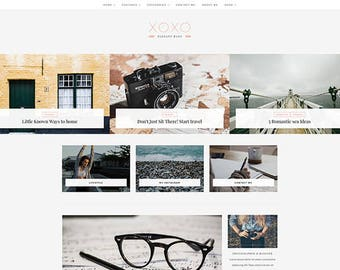 WordPress Blog Theme - WordPress Blog Template - WordPress Theme - Blog Template - WordPress Theme Blog - XOXO - A Blog and Shop Theme
