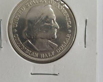 1893 World's Columbian Exposition Chicago US Half Dollar