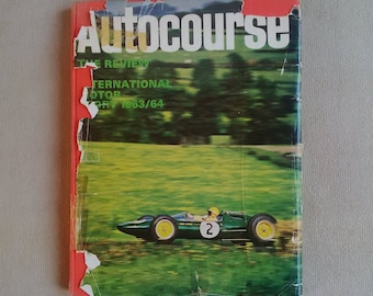 Autocourse Annual Review Book 1963 - 64 Motorsport Formula One F1