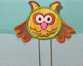 Owl Planner Clip, Jumbo sized