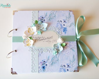 Scrapbook Bridal Shower Mini Album Personalized Hen Party Handmade Photo Memory Book Bachelorette Party Present Wedding Gift