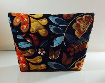 Toilet bag quilted for woman