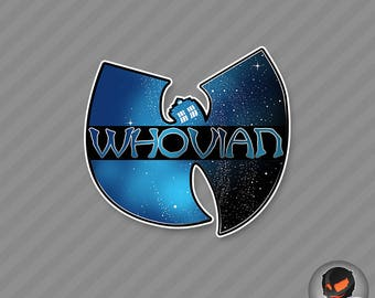 Whovian (vinyl sticker)