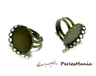 10 DOUBLE quality VAGUE18mm ID30315 BRONZE rings