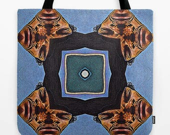 Abstract Surrealist Tote Bag