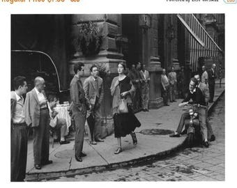 ON SALE American Girl in Italy - Ruth Orkin, 1951 - Florence Italy - Photo - Art - Print - Photography - Vintage - Iconic - Culture - Italia