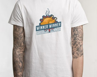 Winner Winner Chicken Dinner! - Player Unknowns Battlegrounds - Original T-shirt Design