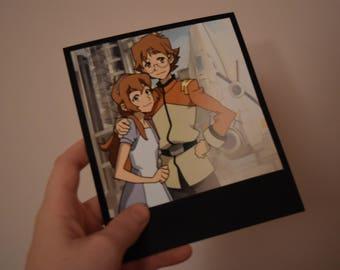 Matt & Katie Holt Polaroid