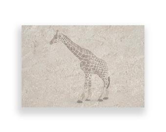 african giraffe print,Instant download,photography,printable,wall art,digital,canvas,print,