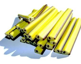 PEAR William polymer clay cane