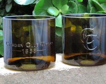 whiskey glasses gift for men who have everything canadian club rocks glass set of 2 anniversary birthday unique wedding favor cool groomsmen