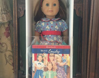 "1st Edition American Girl Doll ""Emily"" with hard cover book, Excellent Condition, In original box"