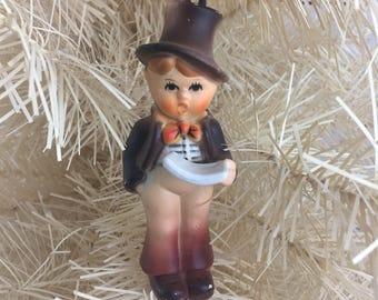 Kurt S Adler Christmas Tree Ornament, Choir Boy, Singing, Caroling, Made in Hong Kong