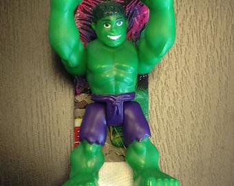 Incredible Hulk Easter Candle/Lambada