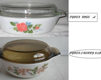 Pyrex England JAJ   White Covered Casserole-1970