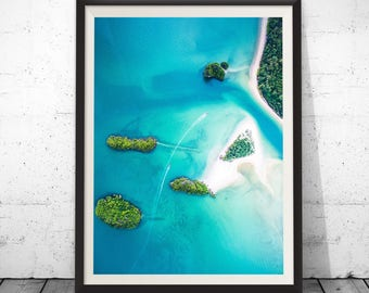 Island Print, island photograph, photo print, wall decal, island photo, home decor, island art, beautiful island, landscape print, beach art