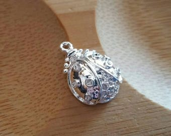 925 sterling silver!  Ladybug charm. ...