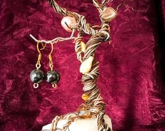 Hematite Dangle/Drop Earrings