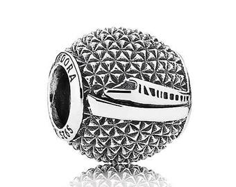 "Authentic Pandora Epcot ""Spaceship Earth"" Charm"