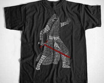 T-Shirt Kylo S M L XL 2XL 3XL 4XL Star Wars Stormtrooper Jedi Kult SciFi Darth