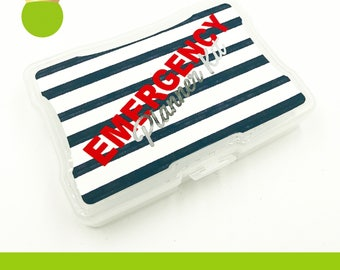 Sticker Storage Box Decal -  Emergency Planner Kit