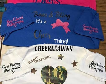 Cheer Camp shirts