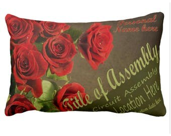 JW Convention or Assembly Baptism Cushion personalised - Art.nr. 1729