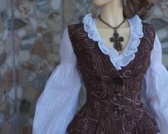 Arabella dress set for BJD Iplehouse EID dolls