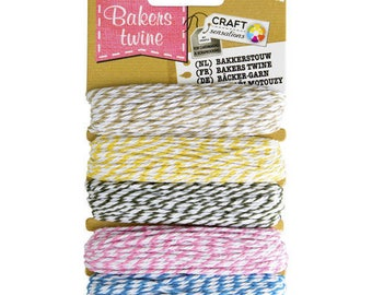 Bakers twine cotton Twine 5 x 10 m