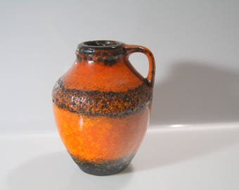 Stunning Vase by Carstens Fat Lava - West German Pottery WGP C 1003-15