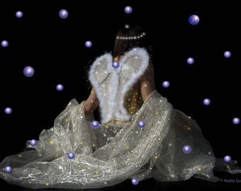 """A4 Art Photo """"The fairy to the stars"""""""