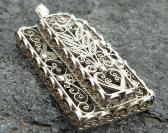 Pendant Art Deco, Pendant, Silver,