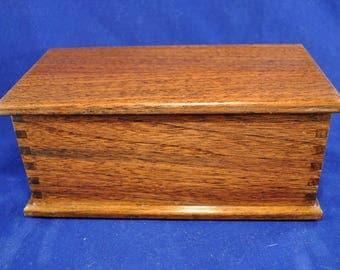 Solid Walnut Box