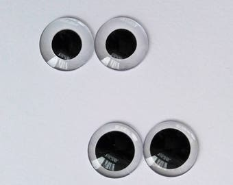 "One Pair of DIY Eye Chips 14mm for Blythe Takara 12"" Neo Doll"
